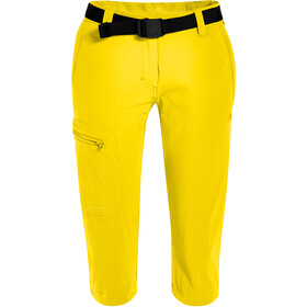 Maier Sports Inara Slim 3/4 Pants Women, lemon
